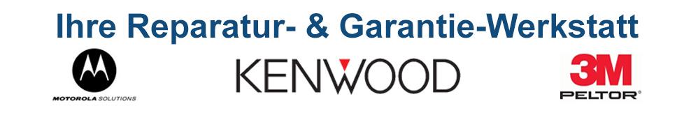 Reparaturzentrum Motorola, Kenwood und 3M Peltor