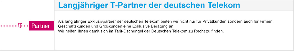 Langjähriger T-Partner der deutschen Telekom