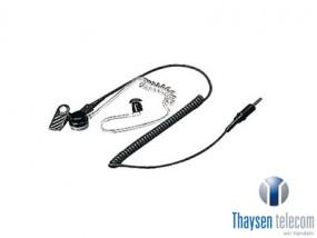 Kenwood KEP-1 Ohrhörer mit Clip, Schallschlauch & 3,5mm Stecker
