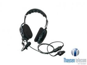 Kenwood KHS-15-OH schwere Hör-/Sprechgarnitur, Lippenmikrofon, inline-PTT