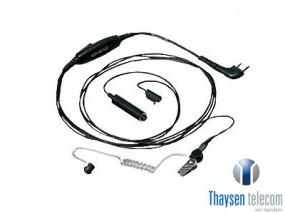 Kenwood KHS-9BL Tarnmikrofon mit Ohrhörer
